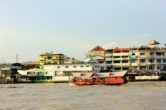 De gemeenschap van Bangkok stock foto's