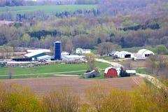 De Gemeenschap van het landbouwbedrijf Stock Afbeelding