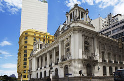 De gemeente van Rio de Janeiro - het Paleis van Pedro Ernesto Stock Afbeelding