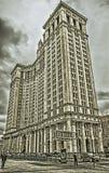 De Gemeentelijke Bouw van Manhattan stock afbeelding