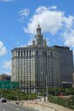 De Gemeentelijke Bouw van Manhattan in Lower Manhattan Royalty-vrije Stock Foto's