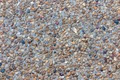 De gemengde achtergrond van de kleurensteen in roodbruin blauw zwart grijs Stock Foto