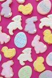 De gemengde koekjes van Pasen Royalty-vrije Stock Foto's