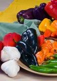 De gemengde Peper van Spaanse pepers stock afbeelding