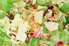 De gemengde Textuur van de Salade Royalty-vrije Stock Foto
