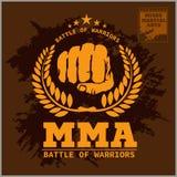 De Gemengde vechtsporten van de strijdclub MMA Royalty-vrije Stock Afbeeldingen