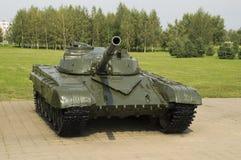 De gemiddelde belangrijkste tank van de USSR stock afbeeldingen