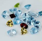 De gemmen van juwelen Stock Afbeeldingen