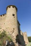 ¡ De Gendulà nas ruínas St James Way Navarra, Espanha Imagens de Stock