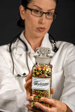 De Geneeskunde van de arts Stock Afbeeldingen