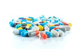 De geneeskunde van de de capsulehoop van tablettenpillen Royalty-vrije Stock Foto