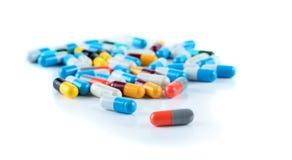 De geneeskunde van de de capsulehoop van tablettenpillen Royalty-vrije Stock Afbeelding