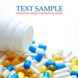 De Geneeskunde van pillen Royalty-vrije Stock Afbeelding