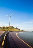 De Generator van de Macht van de wind Royalty-vrije Stock Afbeeldingen