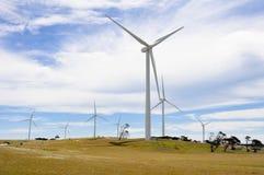 De generatorpark van Eolian, Australië Stock Foto's