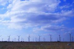 De generators van de wind Royalty-vrije Stock Afbeeldingen