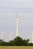 De generators van de wind Stock Fotografie