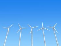 De generators van de wind Vector Illustratie