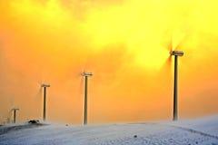 De generators van de wind Stock Afbeelding