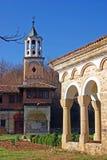 De generische kerk van de torenklok Royalty-vrije Stock Afbeelding