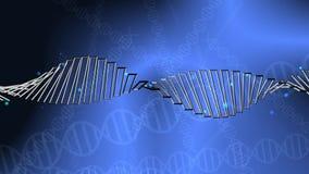 De Genetische Draaiende Bundel van DNA vector illustratie