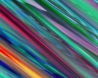 De genetische Rode Groene Oranje Blauwe Diagonale Strepen van de Kunst Royalty-vrije Stock Foto's