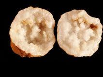 De geode van het kristal Royalty-vrije Stock Afbeeldingen
