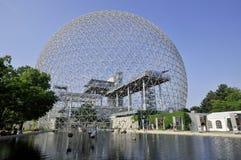 de geodetische koepel Royalty-vrije Stock Fotografie