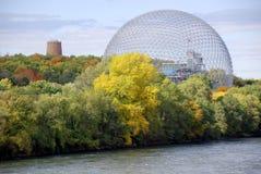 de geodetische koepel Royalty-vrije Stock Foto