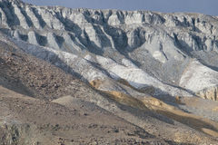De geologiska lagren Fotografering för Bildbyråer