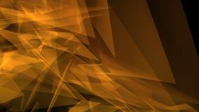 De geometrische futuristische achtergrond van motiedriehoeken vector illustratie