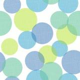 De geometrische Geweven Cirkelsdruk herhaalt Patroon Vectorachtergrond stock illustratie