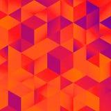 De geometrische kleurrijke grafische textuur van het kunstpatroon royalty-vrije stock afbeeldingen