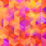 De geometrische kleurrijke grafische textuur van het kunstpatroon stock foto's