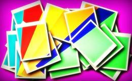 De geometrische lijnen, hoeken, cirkels, kleurden en zwart-witte tekeningen, geklets NS, beelden voor illustraties en achtergrond royalty-vrije stock fotografie