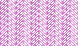 De geometrische naadloze achtergrond van chevrongaten Stock Afbeelding