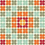 De geometrische Naadloze Tegel van het Patroon stock illustratie