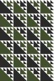 De geometriska upprepande modellerna Arkivbild
