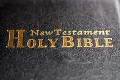 De geopende Bijbel stock afbeelding