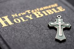 De geopende Bijbel stock foto