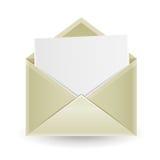 De geopende envelop stock illustratie