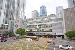 De geopende winkel van de appel Inc. in Hongkong Stock Afbeeldingen
