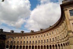 De Georgische gebouwen van Buxton Stock Foto's