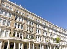 De Georgische voorhuizen van de Gipspleister in Londen Royalty-vrije Stock Fotografie