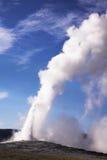 De geothermische geiser Royalty-vrije Stock Foto