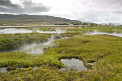 De geothermische lente Royalty-vrije Stock Fotografie