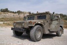 De gepantserde jeep Stock Afbeelding
