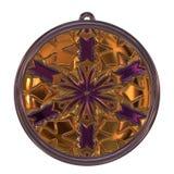 De geproduceerde textuur van het Jewelledmetaal orb Royalty-vrije Stock Afbeelding