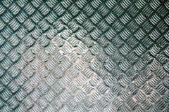 De geprofileerde bevloering van de diamantplaat staal voor industriële gebouwen stock foto