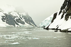 De Gerlache Strait, Antarctica Stock Photo